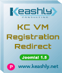 KC VirtueMart Registration Redirect Joomla! 1.5