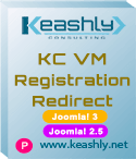 KC VirtueMart Registration Redirect Joomla! 3-2.5
